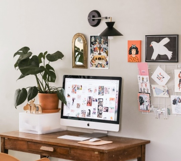 6 Steps to Create The Perfect Workspace At Home